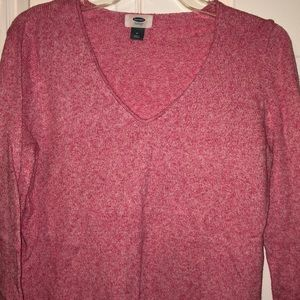 Old Navy Sweaters - Pink Old Navy sweater. V-neck